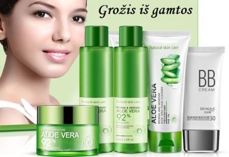 Natūrali kosmetika su alijošiumi