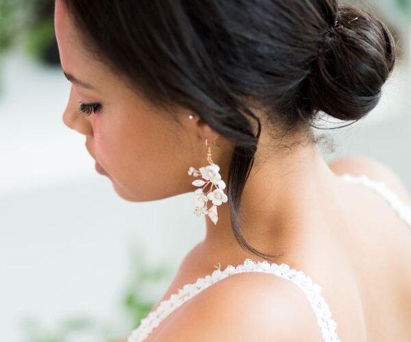 Kokios formos auskarus rinktis vestuvėms?